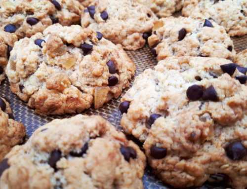 Cookies chocolat et gingembre confit à tomber !